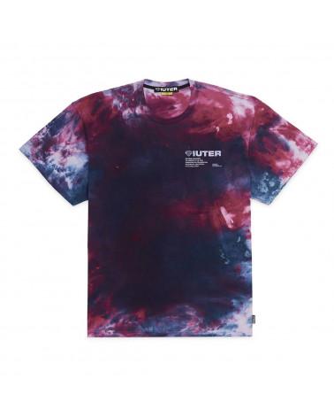 Iuter T-Shirt Disaster Tee - Purple