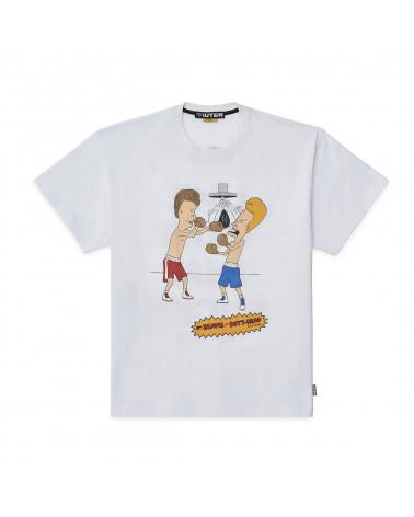 Iuter T-Shirt B&B Knockout Tee - White