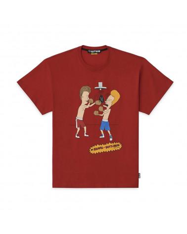 Iuter T-Shirt B&B Knockout Tee - Red