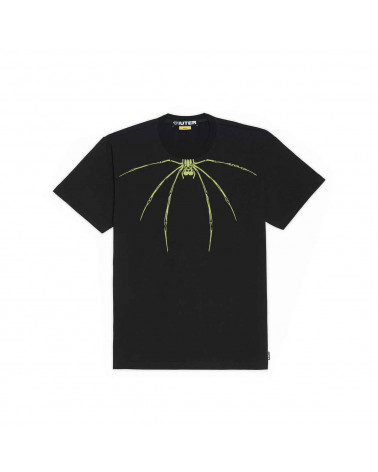 Iuter T-Shirt Widow Tee - Black/Green