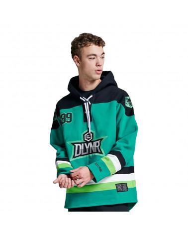 Dolly Noire Sweatshirt Green Hockey Hoodie