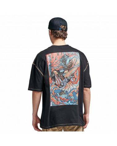 Dolly Noire T Shirt Kuniyoshi Oversize Black