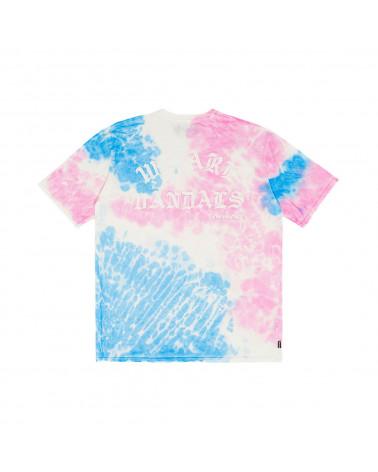 Pas De Mer Wav Tie Dye T-Shirt Pink