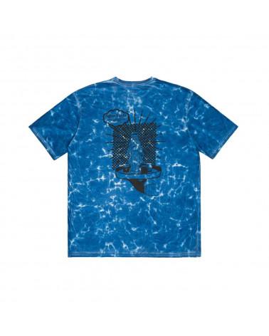 Pas De Mer Aqua Santa Tie Dye T-Shirt