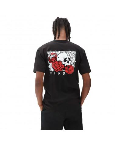 Vans T-Shirt Rose Bed Black