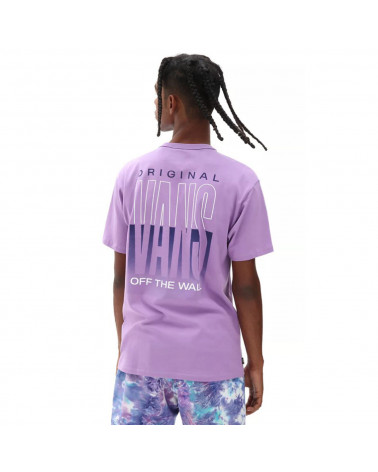 Vans T-Shirt Off The Wall Classic Graphic English Lavender