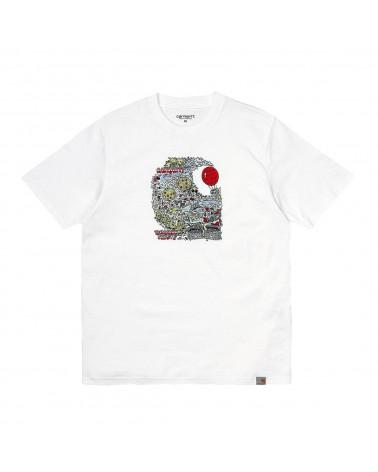 Carhartt Wip Treasure C T-Shirt White