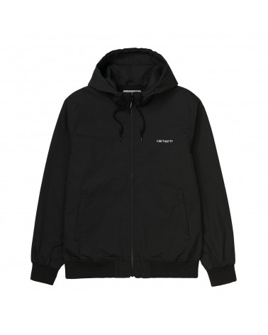 Carhartt Wip Giacca Marsh Jacket - Black/White