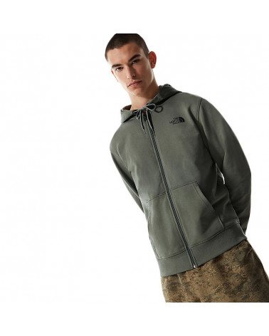 The North Face Felpa Full Zip Open Gate Agave Green