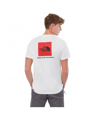 The North Face T-Shirt Redbox White