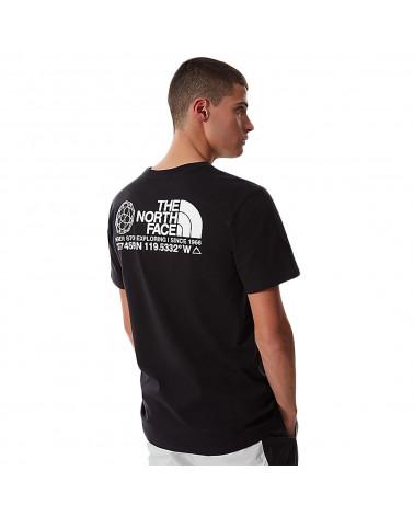 The North Face T-Shirt Coordinates Black