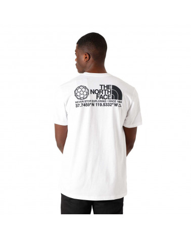 The North Face T-Shirt Coordinates White