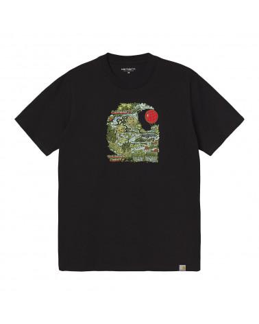 Carhartt Wip Treasure C T-Shirt Black