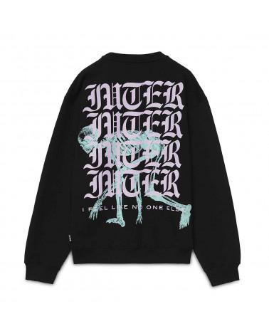 Iuter Sweatshirt Noone Crew Black