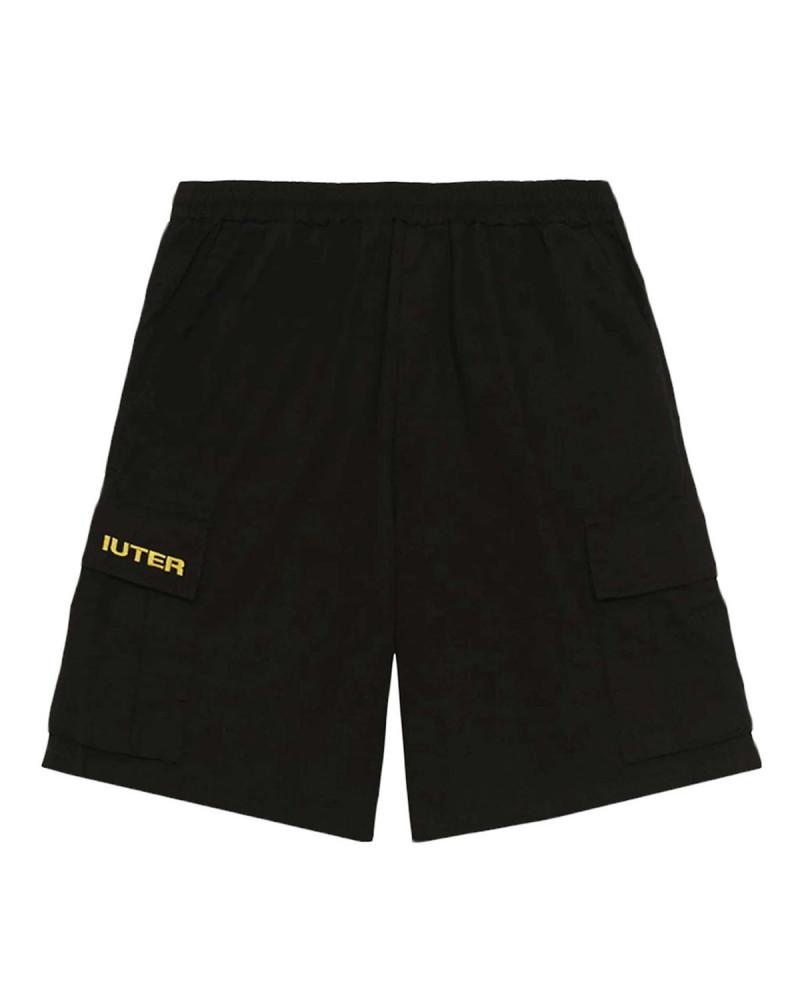 Iuter Pantaloncini Cargo Short Black