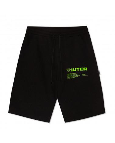 Iuter Pantaloncini Info Sweatshort Black