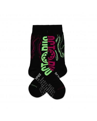 Octopus Calze Logo Socks Black