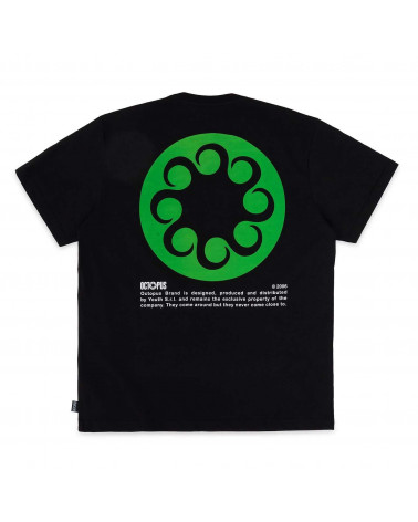Octopus T-Shirt Logo Tee Black