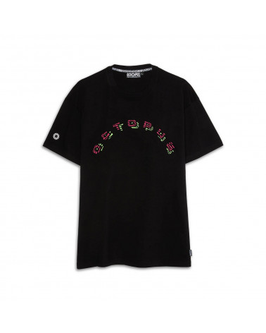 Octopus T-Shirt Fingerz Logo Tee Black
