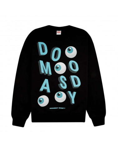 Doomsday Sweatshirt Ballin Crewneck Black
