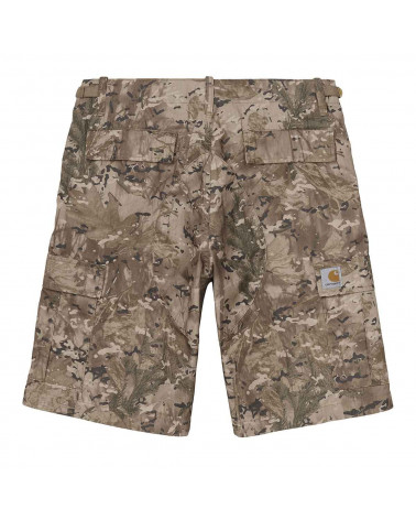 Carhartt Wip Aviation Short - Camo Combi Desert