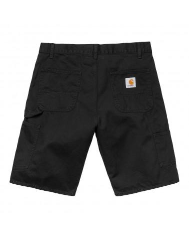 Carhartt Wip Pantaloncini Ruck Single Knee Short - Black