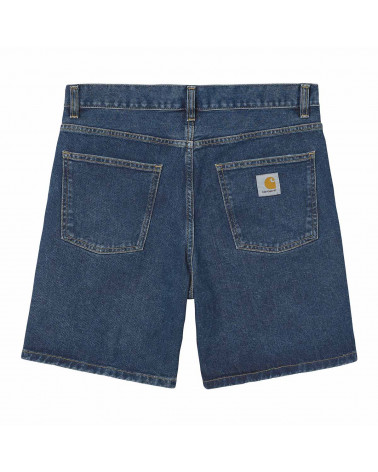 Carhartt Newel Short - Blue Stone Washed