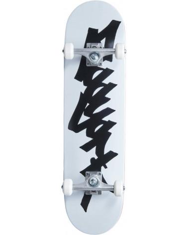 """Zoo York OG 95 TAG Complete Skateboard White/BLACK 8"""""""