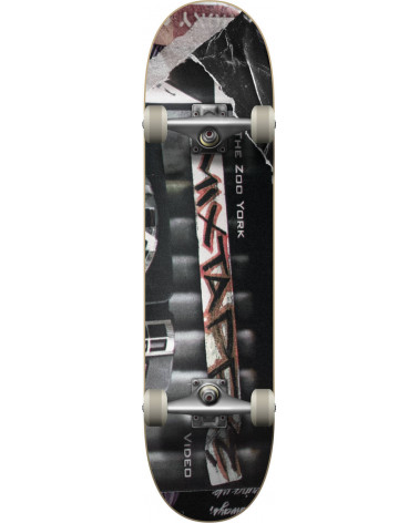 """Zoo York Mix Tape Complete Skateboard 8"""""""