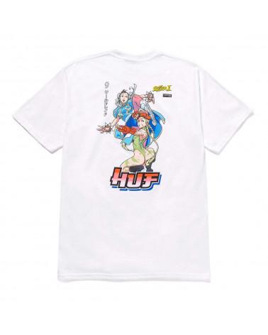 HUF X STREET FIGHTER Chun Li & Cammy T-Shirt