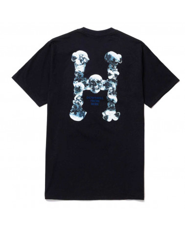 HUF Skulls Classic H T-Shirt Black