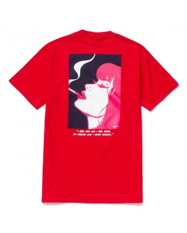 HUF I Feels Goods T-Shirt Red