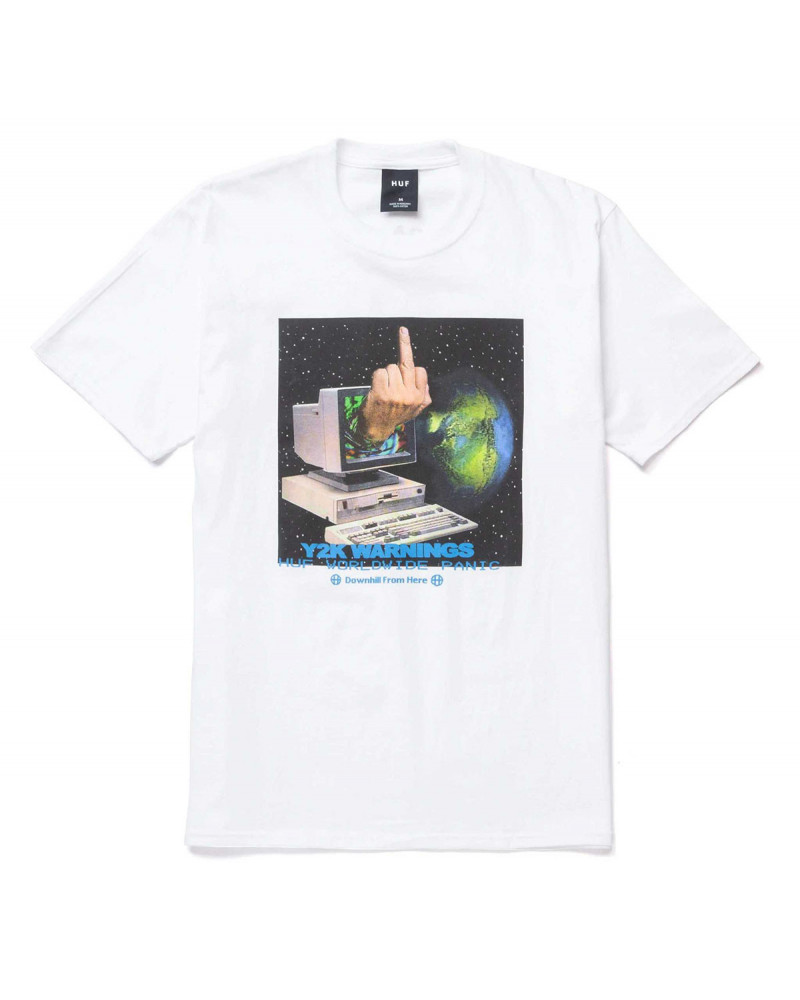 HUF Y2K DAY T-Shirt White
