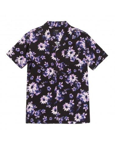 HUF Camicia Dazy Resort Shirt Black