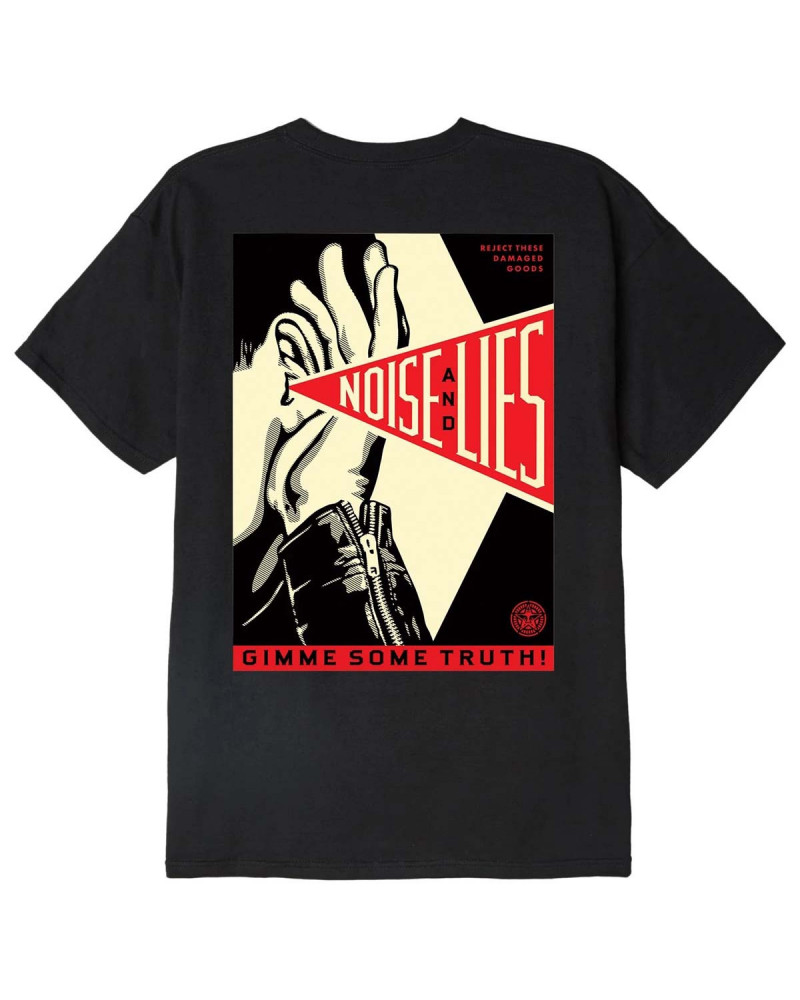 Obey Gimme Some Truth Classic T-Shirt Black