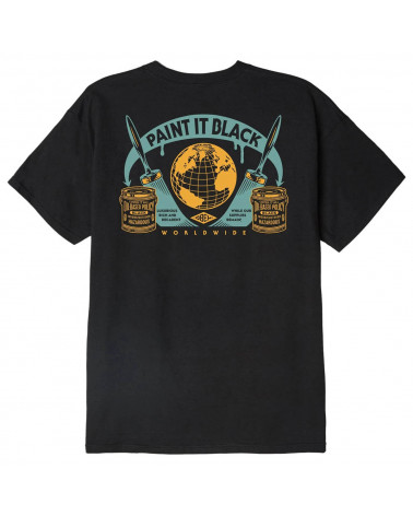Obey Paint It Black Classic T-Shirt Black