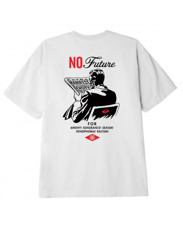 Obey No Future Classic T-Shirt White