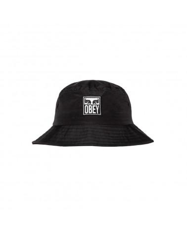 Obey Icon Eyes Bucket Hat - Black