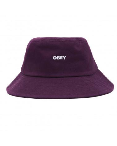 Obey Bold Bucket Hat Purple Nitro