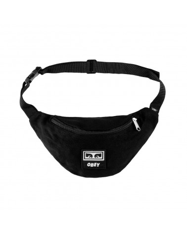 Obey Wasted Hip Bag Black