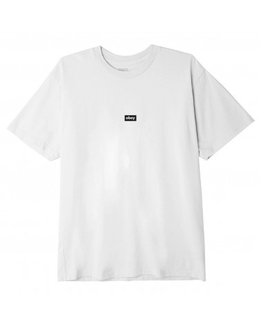 Obey Bar Classic T-Shirt White
