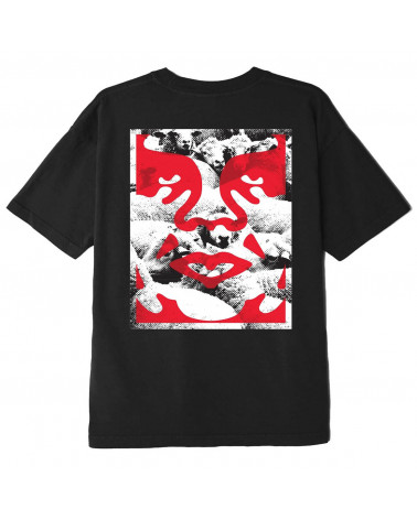 Obey Seduction of the Masses Classic T-Shirt Black