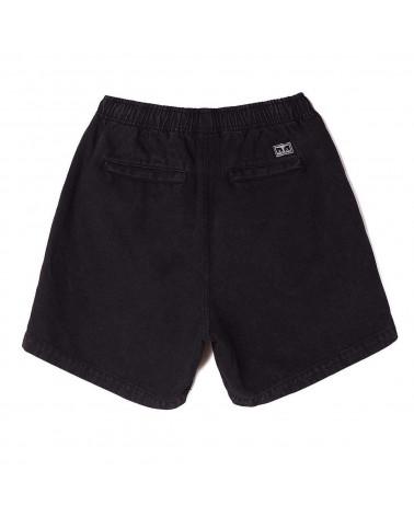 Obey Pantaloncino Easy Relaxed Denim Short Black