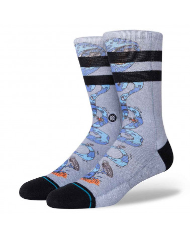 Stance Socks Party Wave Grey