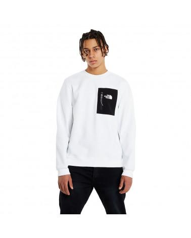 The North Face Sweatshirt Tech Crewneck White