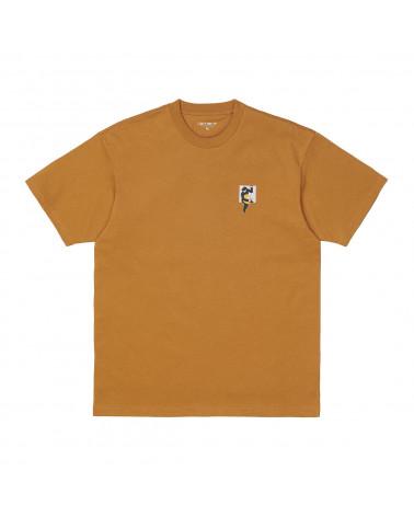 Carhartt Wip Teef T-Shirt Hamilton Brown