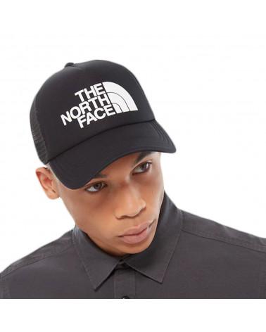 The North Face Logo Trucker Black/White