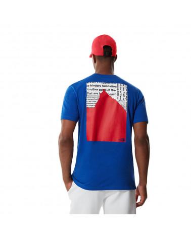 The North Face T-Shirt Karakoram Graphic TNF Blue