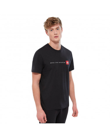 The North Face T-Shirt Never Stop Exploring Black