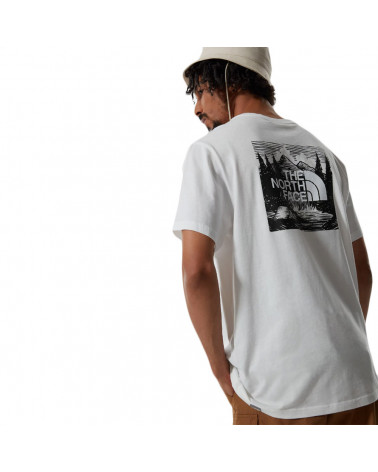 The North Face T-Shirt Redbox Celebration White/Black